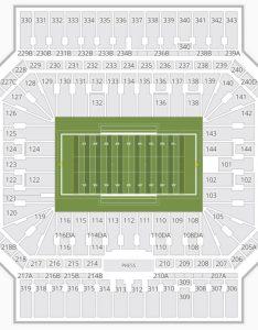 Alamodome seating chart football also charts  tickets rh bizarrecreations