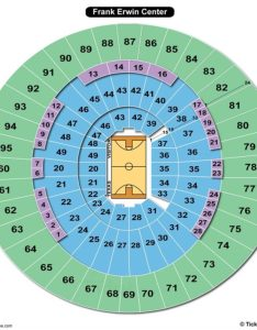 Frank erwin center seating chart basketball also charts  tickets rh bizarrecreations
