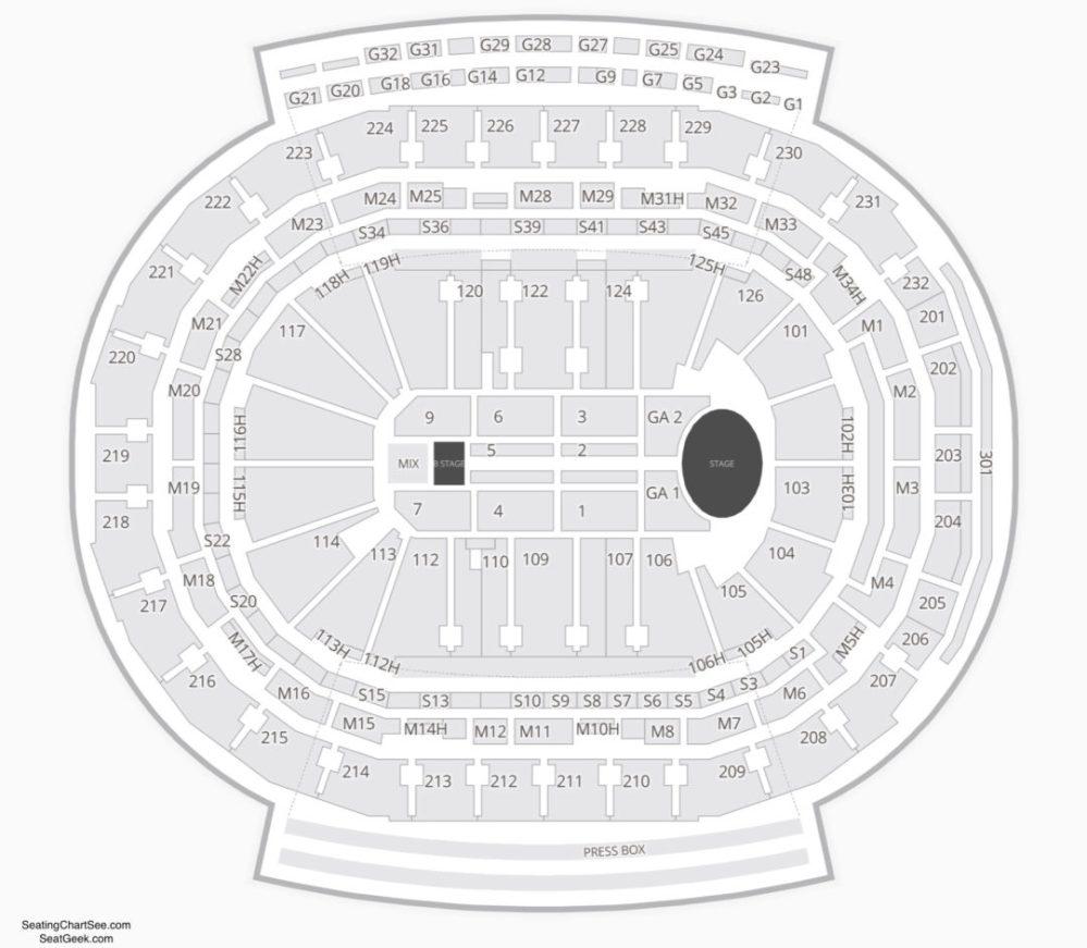 medium resolution of little caesars arena concert seating chart