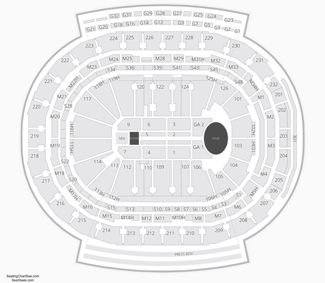 hight resolution of little caesars arena concert seating chart