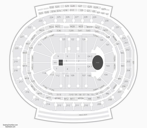 small resolution of little caesars arena concert seating chart