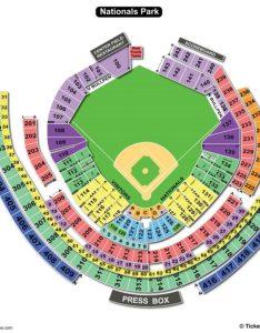 Nationals park baseball seating chart also charts  tickets rh bizarrecreations