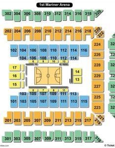 Royal farms arena seating chart basketball also charts  tickets rh bizarrecreations