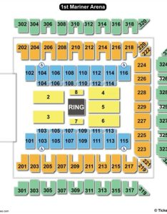 Royal farms arena seating chart wwe also charts  tickets rh bizarrecreations
