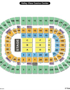 Valley view casino center seating chart concert also charts  tickets rh bizarrecreations