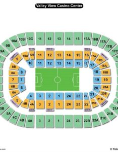 Valley view casino center seating chart soccer also charts  tickets rh bizarrecreations