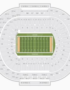 Tennessee volunteers football seating chart neyland stadium information also charts  tickets rh bizarrecreations