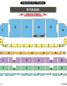 The fabulous fox theatre st louis seating chart also charts rh bizarrecreations