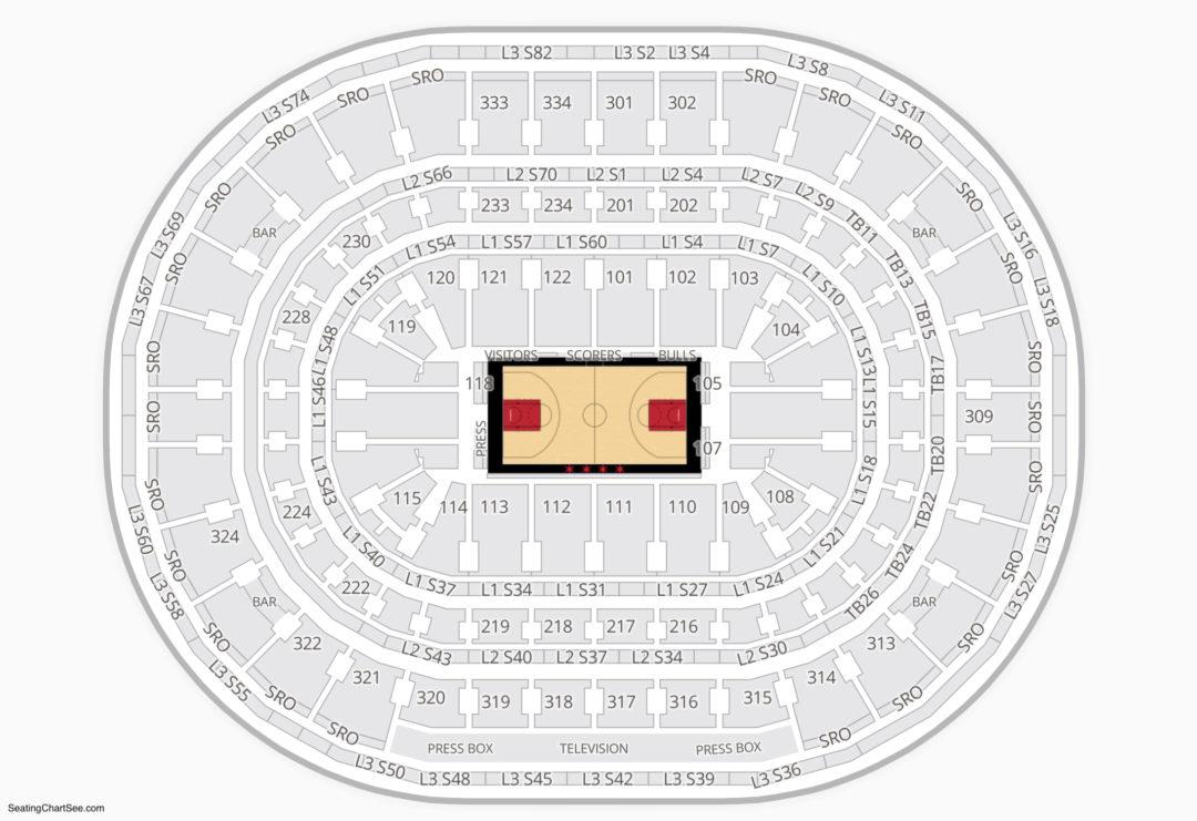 Chicago Bulls Seating Chart Otvod