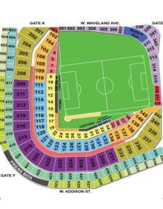 Wrigley field soccer seating chart also charts  tickets rh bizarrecreations