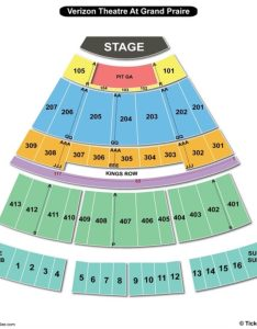 Verizon theatre at grand prairie seating chart tx also charts rh bizarrecreations