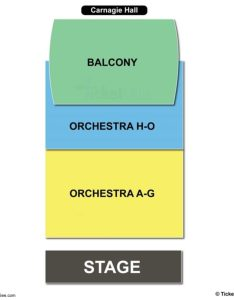 Carnegie hall weill recital seating chart also  charts tickets rh bizarrecreations