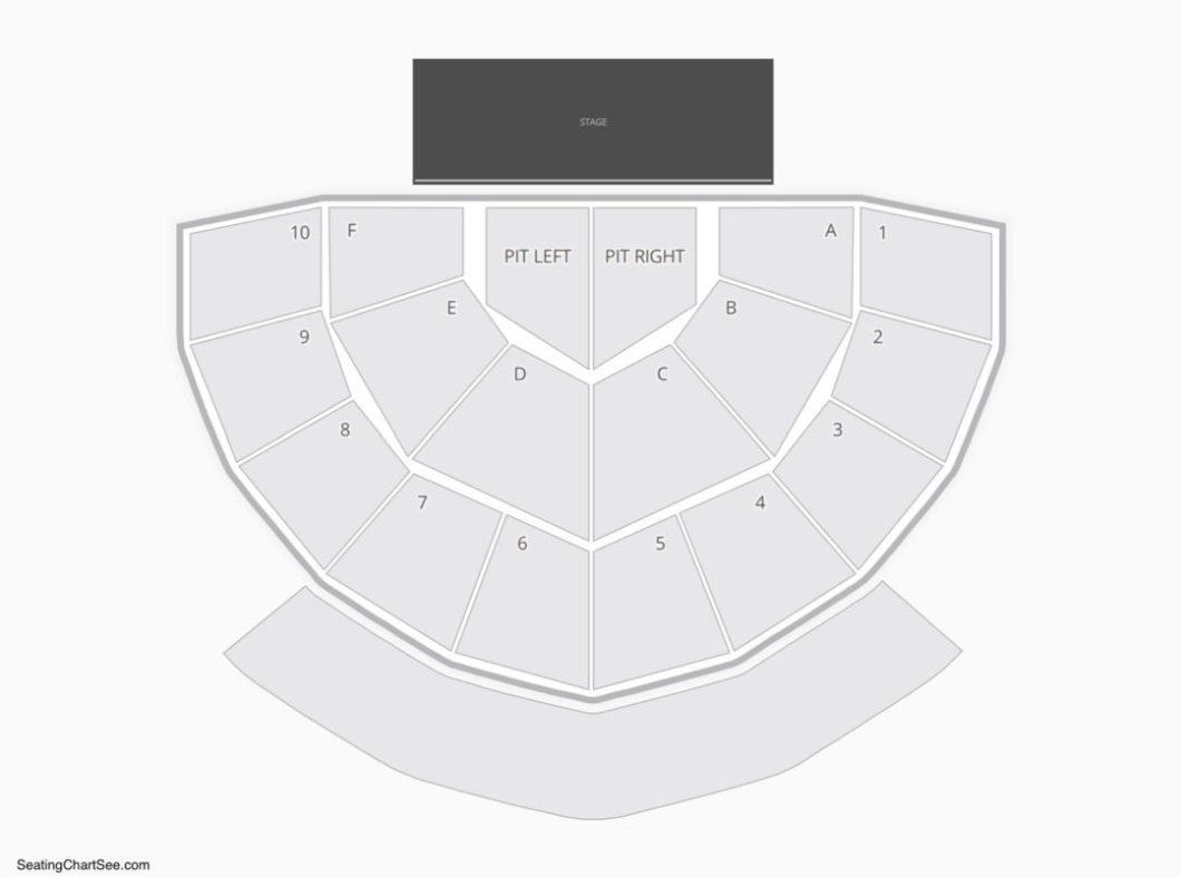 Seating Chart Greek Theatre Berkeley Ca Wallseatco