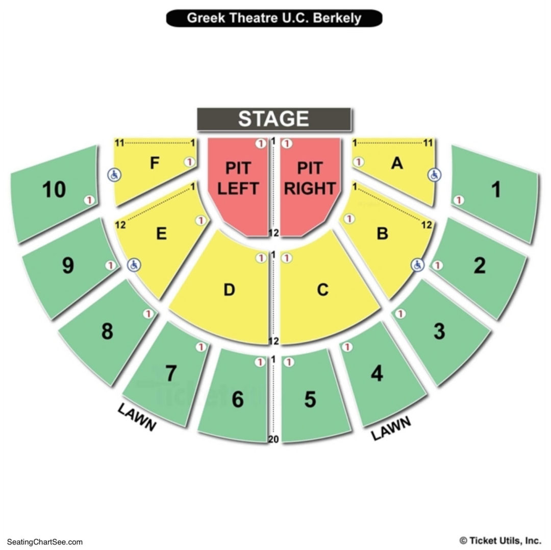 theater greek diagram 1995 ford explorer fuse theatre  berkeley seating chart charts