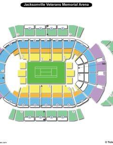 Jacksonville veterans memorial arena seating chart tennis also charts rh bizarrecreations