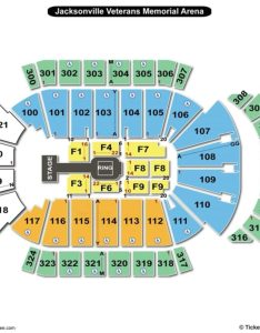 Jacksonville veterans memorial arena seating chart wwe also charts rh bizarrecreations