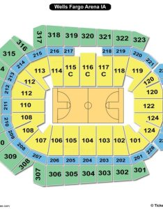 Wells fargo arena des moines seating chart basketball also charts  tickets rh bizarrecreations