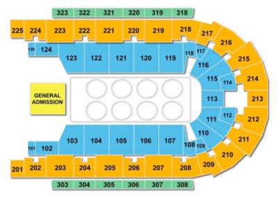 Boardwalk Hall Seating Chart | Seating Charts & Tickets