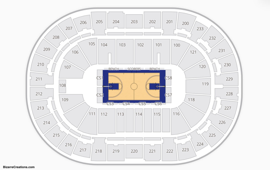 Warriors Basketball Seating Chart
