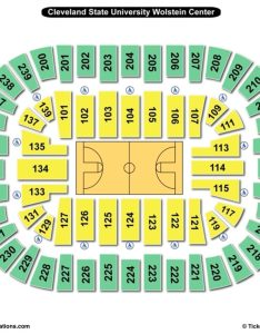 Cleveland state university wolstein center basketball seating chart also charts  tickets rh bizarrecreations