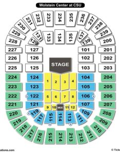 Cleveland state university wolstein center seating chart concert also charts  tickets rh bizarrecreations