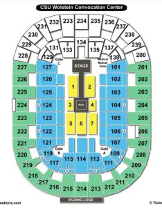 Cleveland state university wolstein center seating chart wwe also charts  tickets rh bizarrecreations