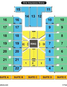 Erie insurance arena seating chart wrestling also charts  tickets rh bizarrecreations