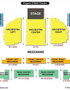 Eugene oneill theatre seating chart new york also   neill charts tickets rh bizarrecreations