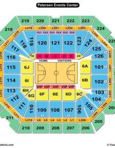 Petersen events center basketball seating chart also charts  tickets rh bizarrecreations