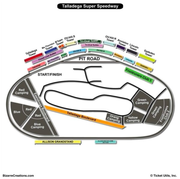 Seating Capacity At Talladega Motor Sdway impremedianet