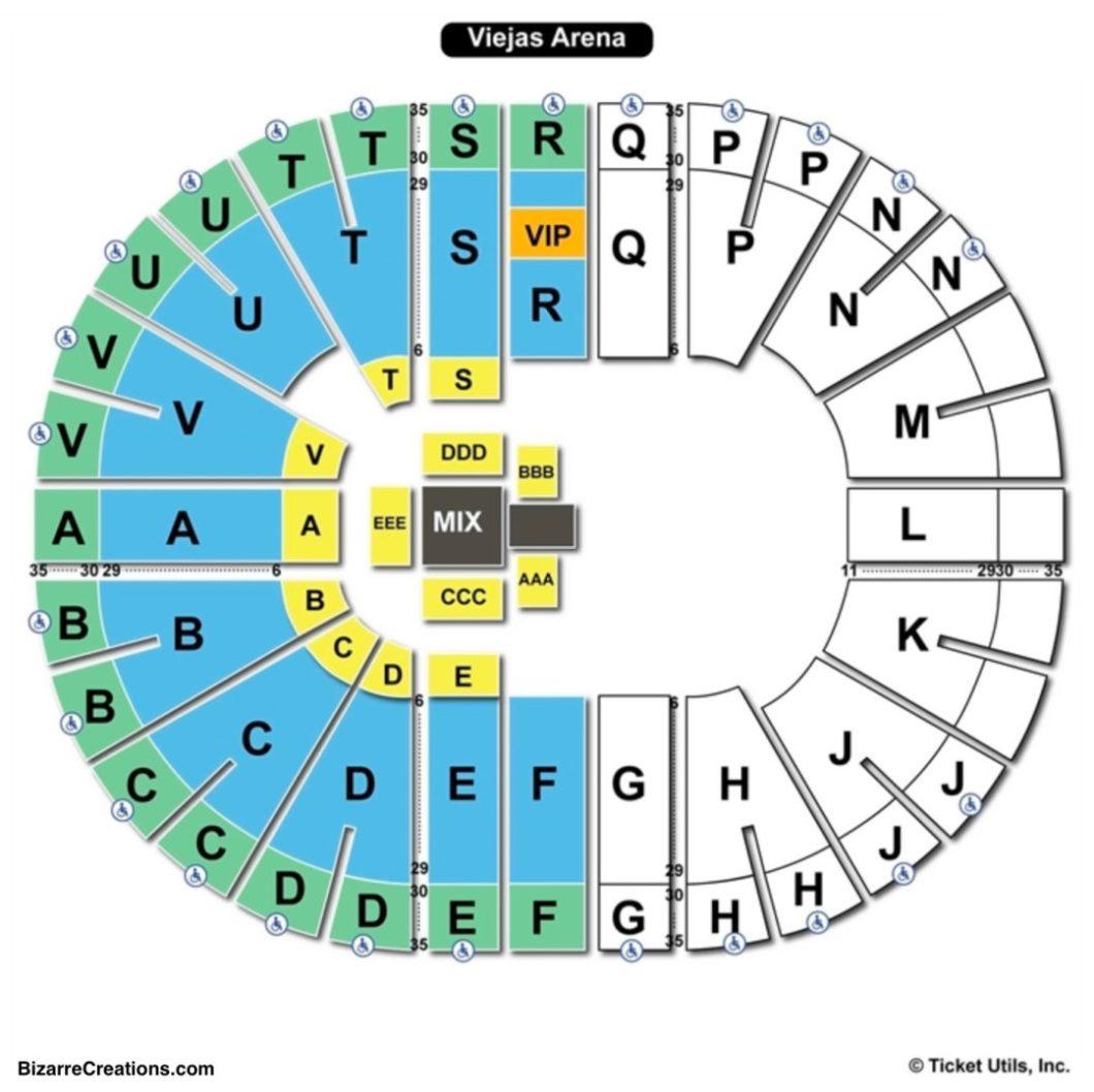 Viejas Arena Seating Numbers Wallseatco