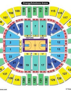Vivint smart home arena seating chart basketball also charts  tickets rh bizarrecreations