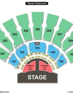 The axis seating chart zappos theater at planet hollywood also charts  tickets rh bizarrecreations