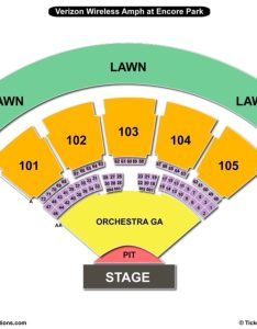 Verizon amphitheatre seating chart also charts  tickets rh bizarrecreations