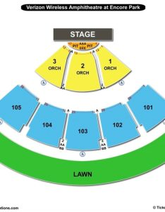 Verizon wireless amphitheatre seating chart also charts  tickets rh bizarrecreations