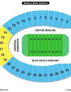 Wallace wade stadium seating chart durham also charts  tickets rh bizarrecreations