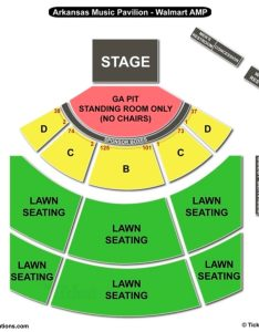 Walmart amp seating chart also arkansas music pavilion charts rh bizarrecreations