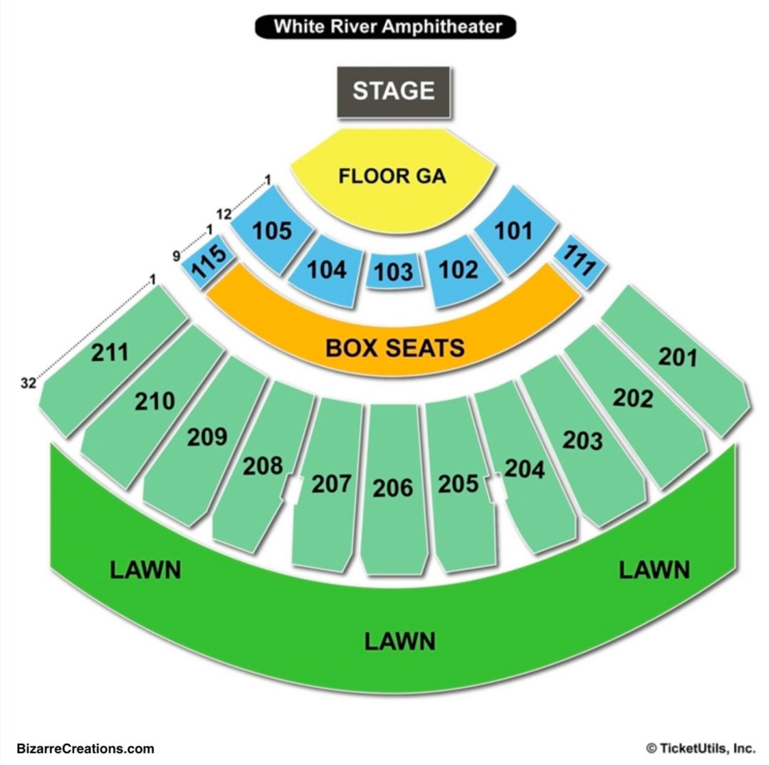 Cozy Oak Mountain Amphitheatre Seating Chart And Tickets