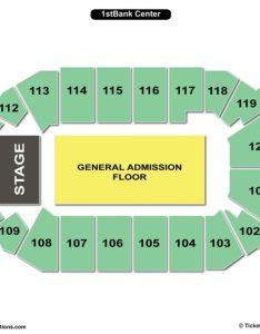 st bank center concert seating chart also charts  tickets rh bizarrecreations