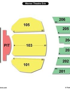 Warner theatre seating chart erie also charts  tickets rh bizarrecreations