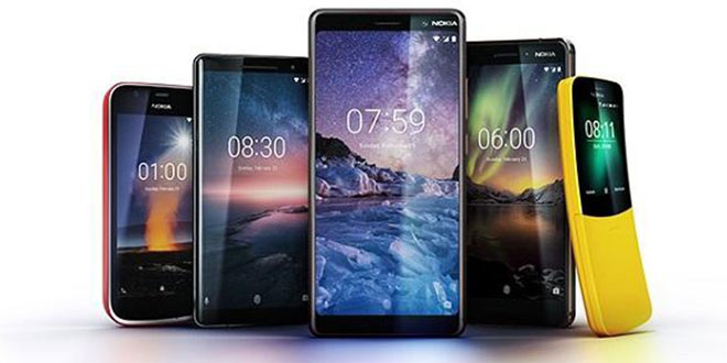 HMD reveals four new models of Nokia phones