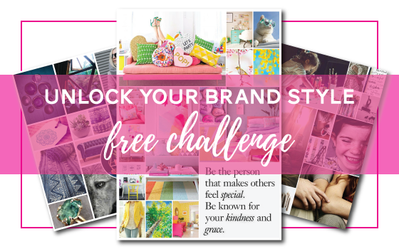 Join the Unlock Your Brand Style free challenge with Biz BFF