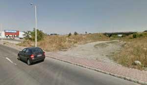 Strada zona de shopping Punctul de plecare din strada Poienelor pe fostul traseu al caii ferate industriale