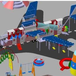 Parcul cu avioane din Centrul Civic devine realitate până la finele lui august