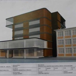 """Pentru a amenaja un nou corp de clădire futurist pentru elevii de la """"Meşotă"""" sunt necesare 3,3 milioane de euro"""