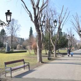 Cum va fi iluminat Parcul Central după ce se vor investi în noile lampadare peste 600.000 de lei