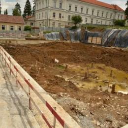 Încep lucrările în subteran la Parcarea de la Militar. Până acum, proiectul este finalizat în proporţie de 20%