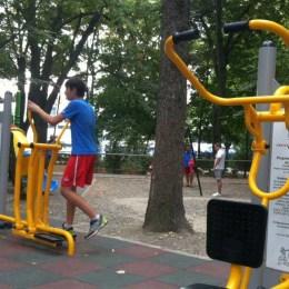 Zece săli noi de fitness în aer liber, în parcurile din Brașov