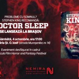 Cel mai recent roman al lui Stephen King se lansează sâmbătă la Braşov
