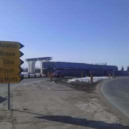 S-au reluat lucrările pe ocolitoarea Brașovului. Până la finele anului se închid șantierele și se va circula în regim de autostradă